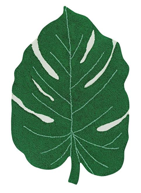 Lorena Canals Monstera Leaf Halı Yeşil